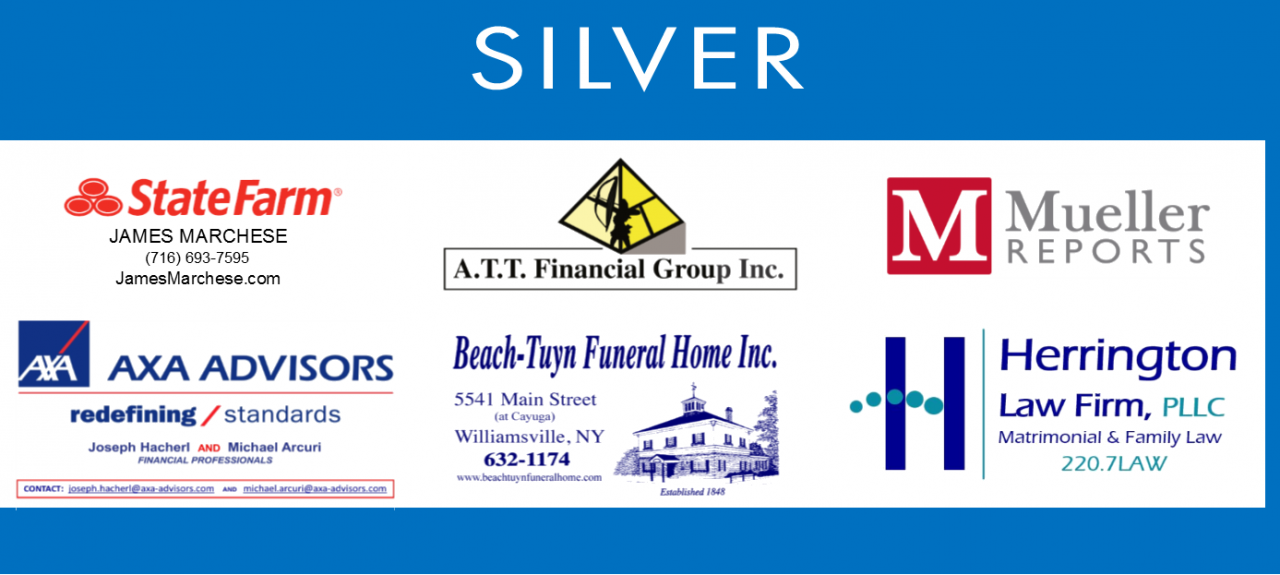 Thank You  Charge of the Knights Silver Sponsors!