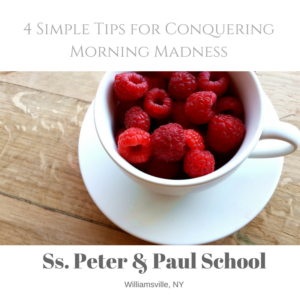 4 Simple Tips for Conquering Morning Madness